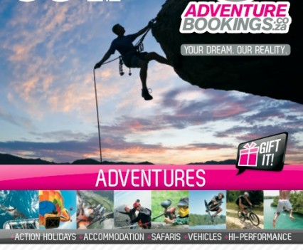 Adventurebookings Pink Guide Advert