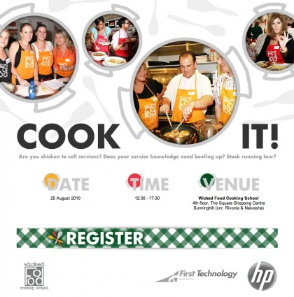 Cook IT! E-vite with HP+Firstech