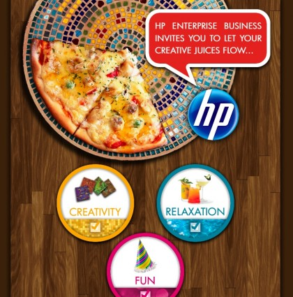 Creative Press Evite for HP