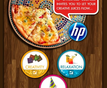 HP Creative Press E-Vite