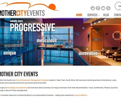 MotherCityEvents Website