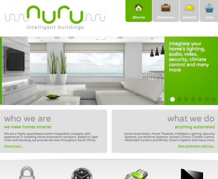 Nuru Website