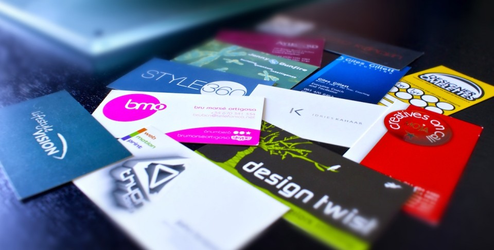 Various Business Cards