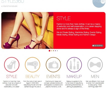 Style360 Website