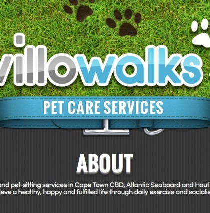 Website for WilloWalks