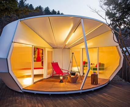 ArchiWorkshop Donut Tent