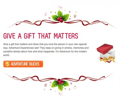 AdventureBookings Newsletter Gift