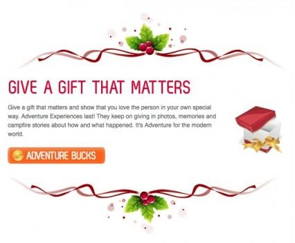 AdventureBookings Newsletter Gift
