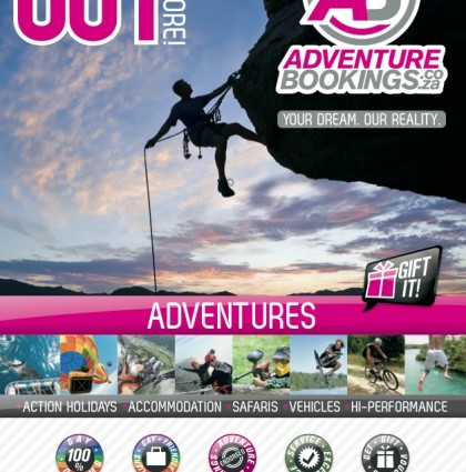 Banner and Advert for AdventureBookings