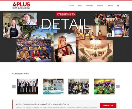 A-Plus Website Home
