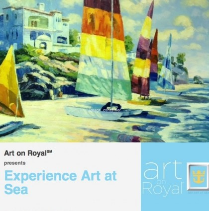 Mailer for Art on Royal