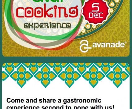 Avanade Thai Cooking Experience e-Vite