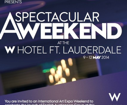 W-Hotel Invite Card Front