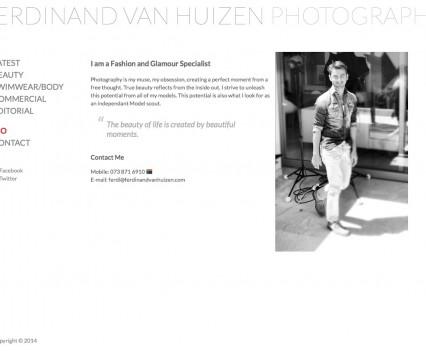 Ferdinand van Huizen Photography Bio