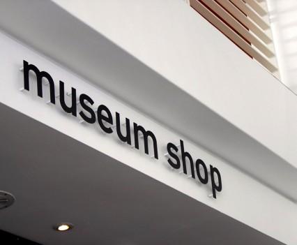 Museum Shop Sign