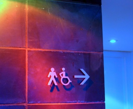 Male Restroom Sign