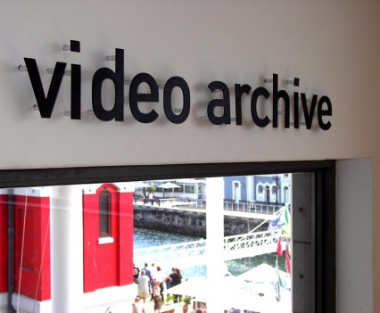 Video Archive Sign