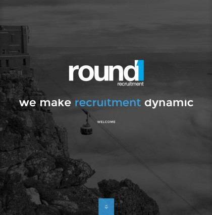 Website and Logo for Round1Recruitment