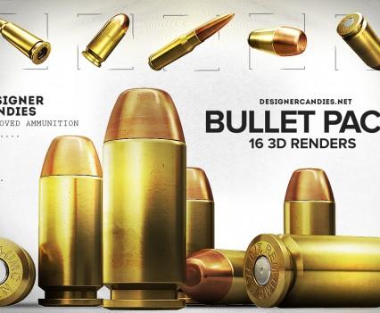Designer Candies Free Bullet Renders Pack