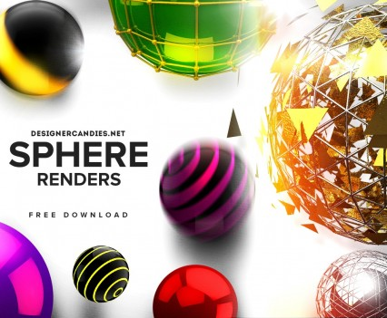 Designer Candies Free Sphere Renders