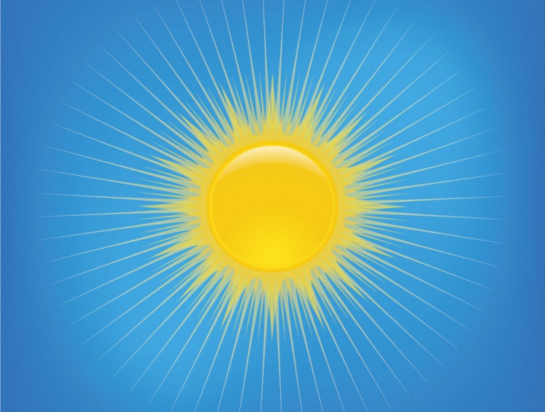 Freebie Sun Illustration