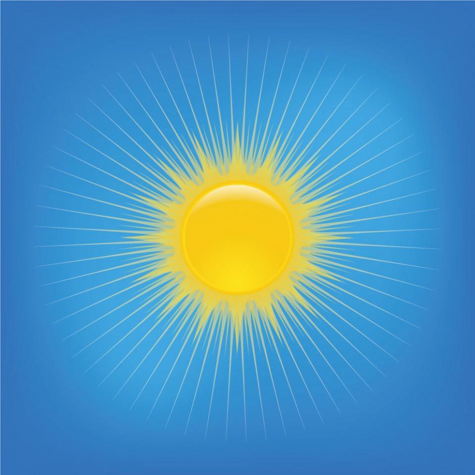 Sun Freebie Illustration