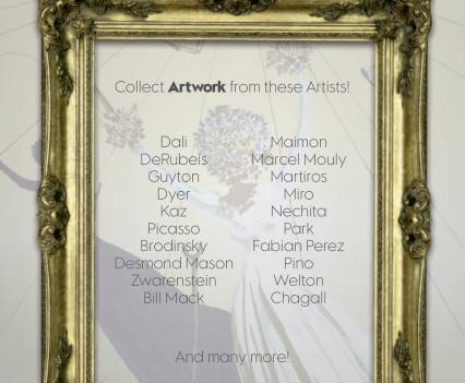 W Hotel Invitation Artists List