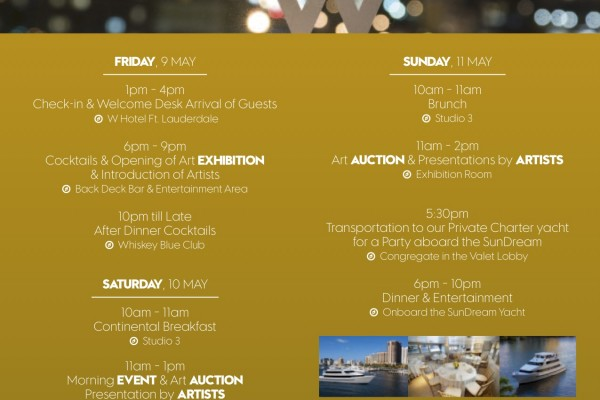 W Hotel Invitation Program