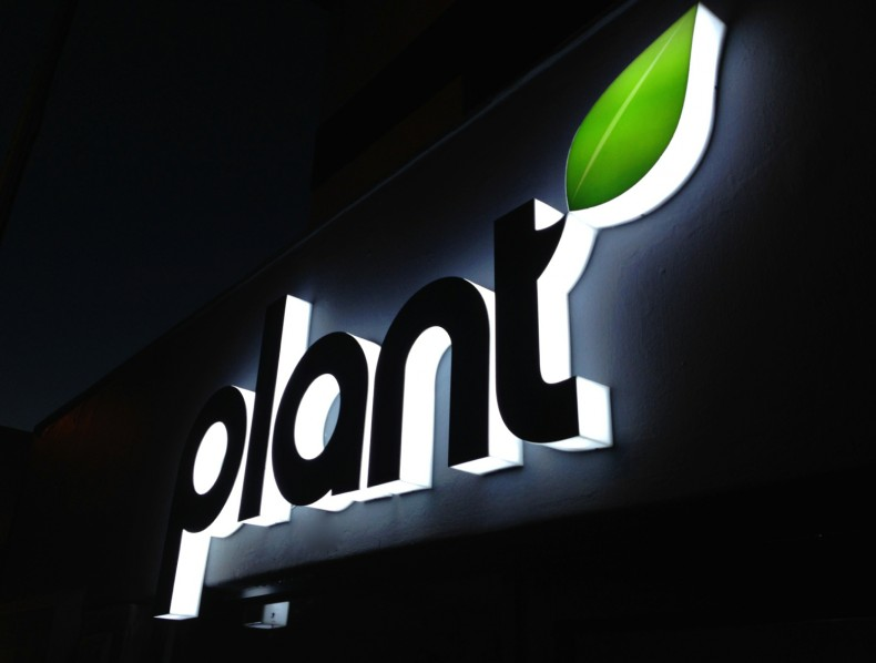 Retail Signage for PLANT