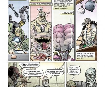 Chris Beukes - Comic Art