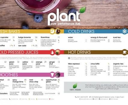 Plant Menu Boards 2