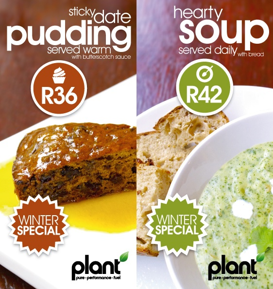 New Menu and Winter Print Design for Plant