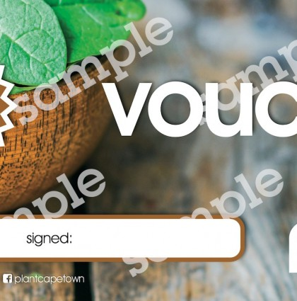 Gift Voucher Design for PLANT