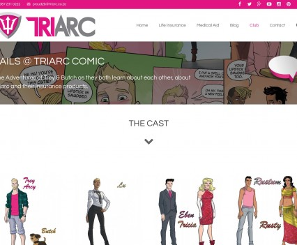 Triarc LGBTI Insurance Provider - Comic