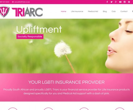 Triarc LGBTI Insurance Provider - Home