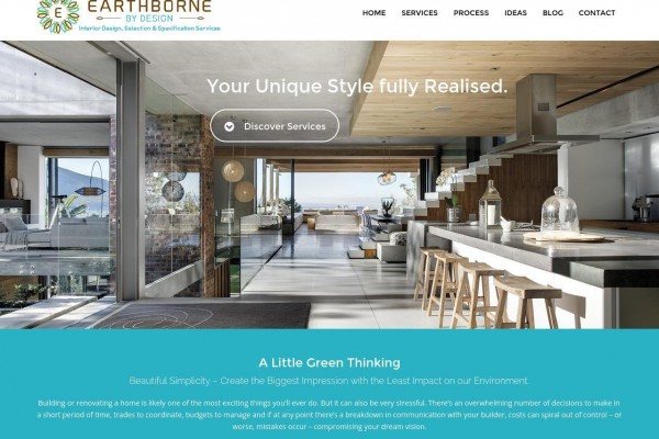 Earthborne By Design Website