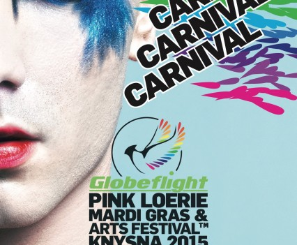 Pink Loerie - Carnival Poster