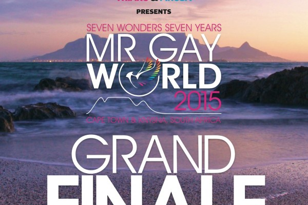 Pink Loerie - Mr Gay World Finale Poster