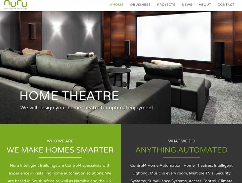 Website for Nuru Intelligent Buildings