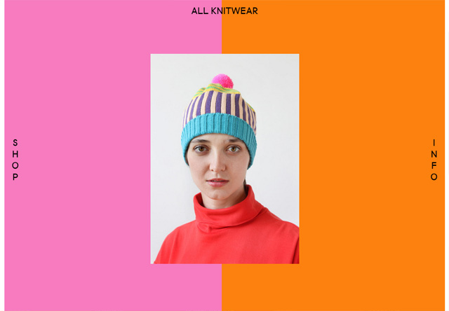 Colorful Website - All Knitwear