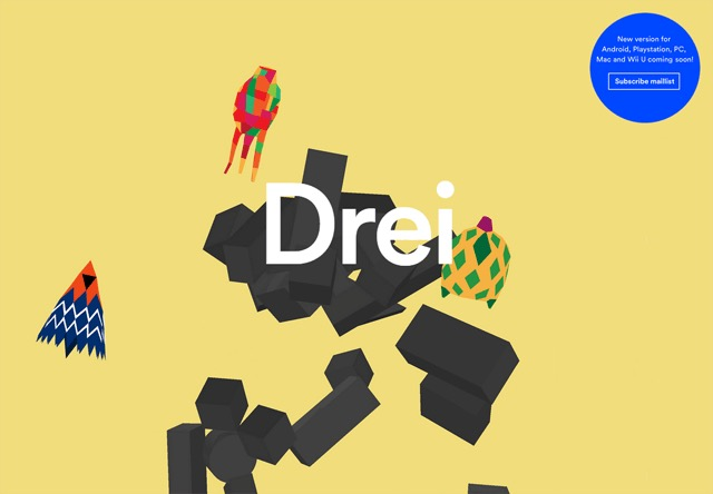 Colorful Website - Drei