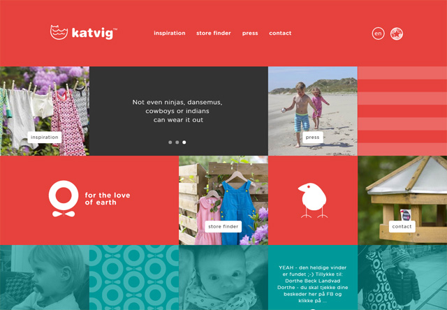 Colorful Website - KATVIG