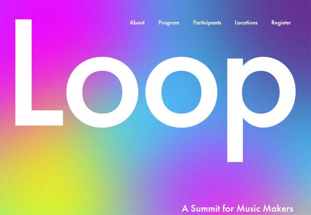 Colorful Website - Loop