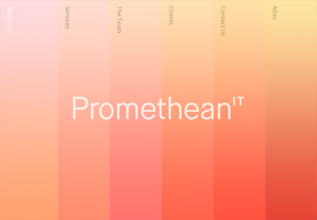 Colorful Website - Promethean