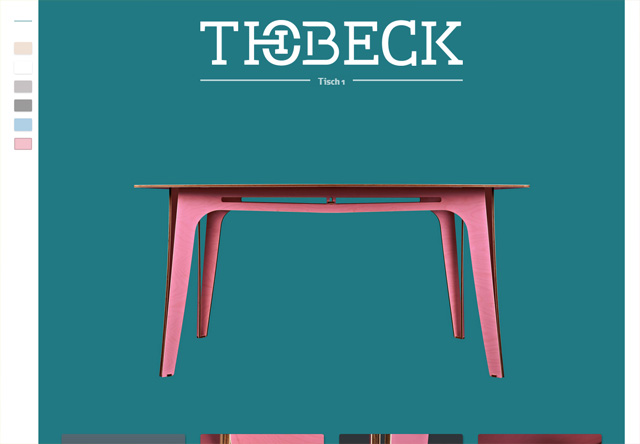 Colorful Website - Thobeck