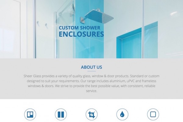Sheer Glass Website