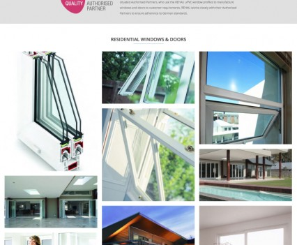 Sheer Glass - uPVC