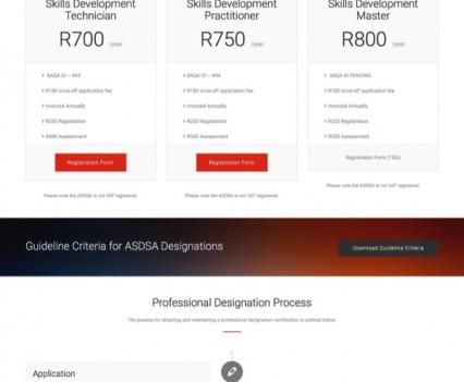 Designations · ASDSA