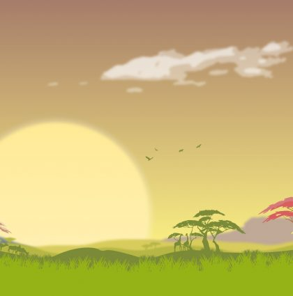 Simple Vector Landscapes in Illustrator