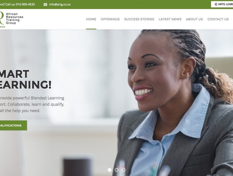 Website for African Resources Training Group
